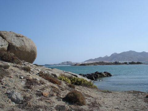 Naxos: Presqu'île de Prokopios et plage d'Agia Anna 6