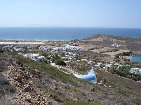Naxos: Presqu'île de Prokopios et plage d'Agia Anna 17