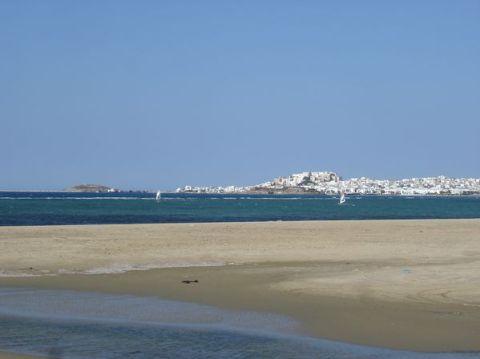 Naxos: Presqu'île de Prokopios et plage d'Agia Anna 20