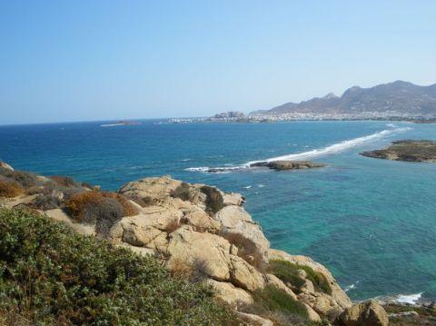 Naxos: Presqu'île de Prokopios et plage d'Agia Anna 8