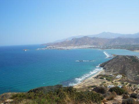 Naxos: Presqu'île de Prokopios et plage d'Agia Anna 11