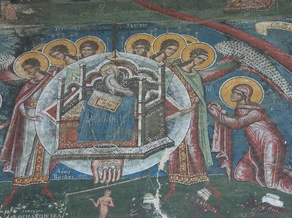 Les premiers monastères orthodoxes peints de Bucovine : Moldovitsa, Sucevita, Solé 2