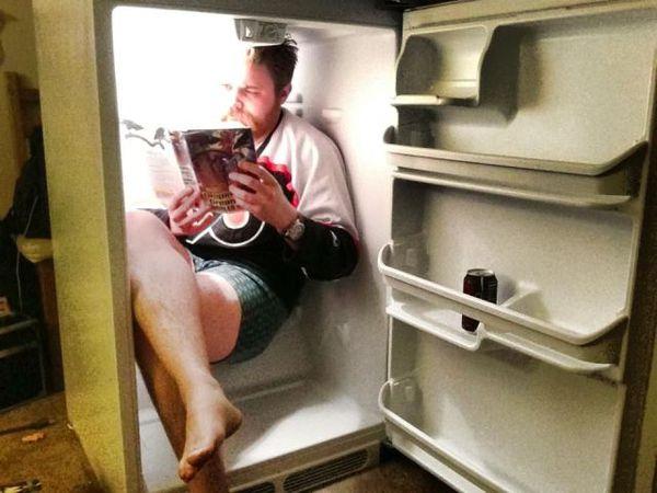 """Résultat de recherche d'images pour """"tête dans le frigo"""""""