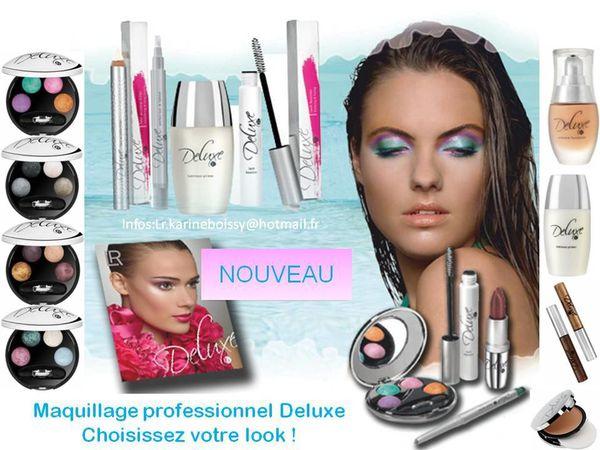 """Maquillages """"LR COLOUR"""" & """"LR DELUXE"""" - Le blog de Karine Boissy"""