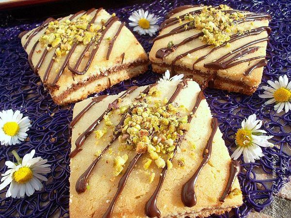 Gteaux Secs Carrs Aux Chocolat Et Pistaches Couscous