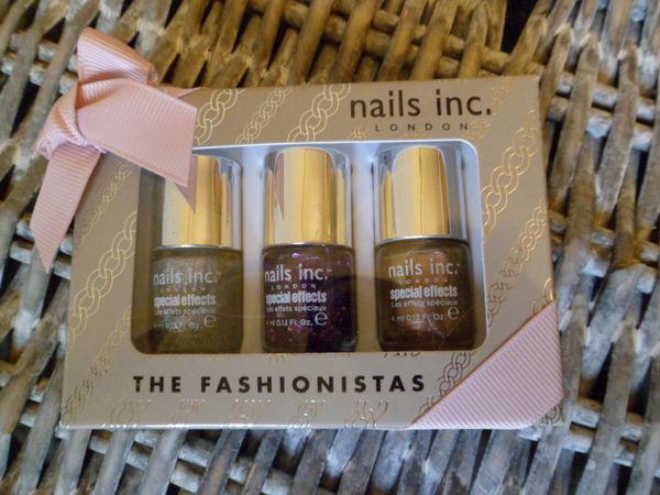 nails inc mini vernis fashionistas