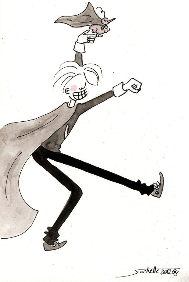wilfried et théo - super héro