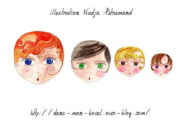 poupée russe illustration blog