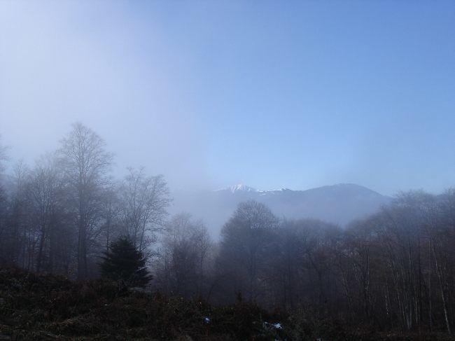 Vers le Pic du Gar : le col des Ares (797 m) 19