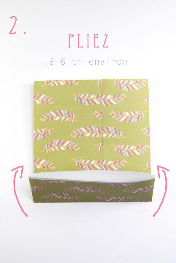 Tuto comment faire des petits sacs en papier dans mon bocal - Comment faire un eventail en papier ...
