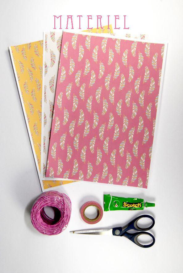 tuto comment faire un sac en papier matériel