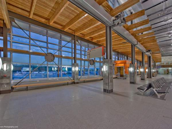 Fairbanks International Airport Overgaard