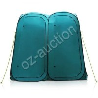 Pop-Up Twin Duo Ensuite Shower Tent Outdoor Camping ...