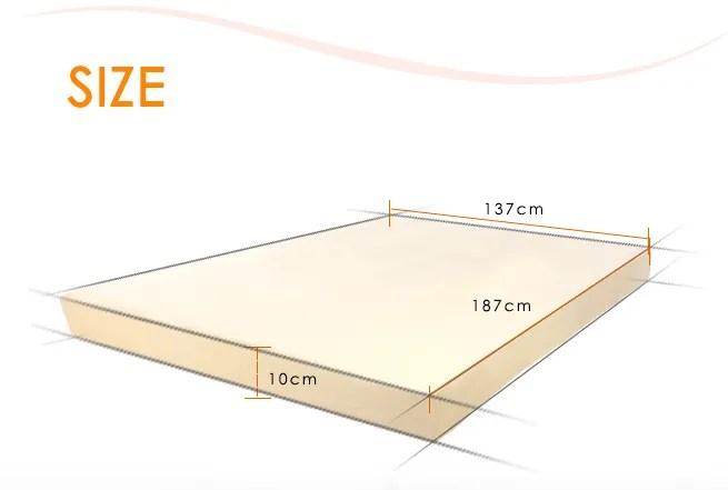 Memory Foam Mattress Topper Double Size