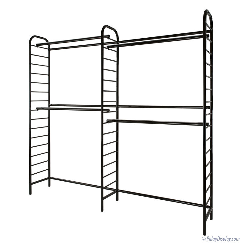 Double Two Tier Wall Unit :: Latitude Series Store Fixture