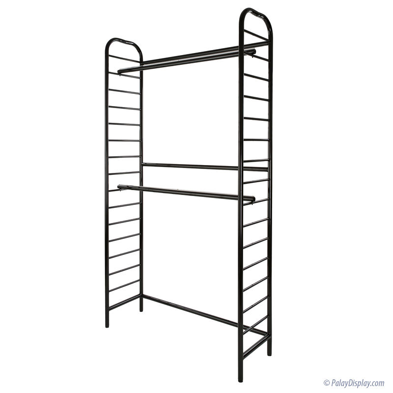 Single Two Tier Wall Unit :: Latitude Series Store Fixture