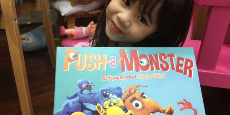 【愛桌遊】喜歡怪獸電力公司嗎? 那麼這款桌遊 怪獸推推樂 Push-a-monster 你不能錯過!