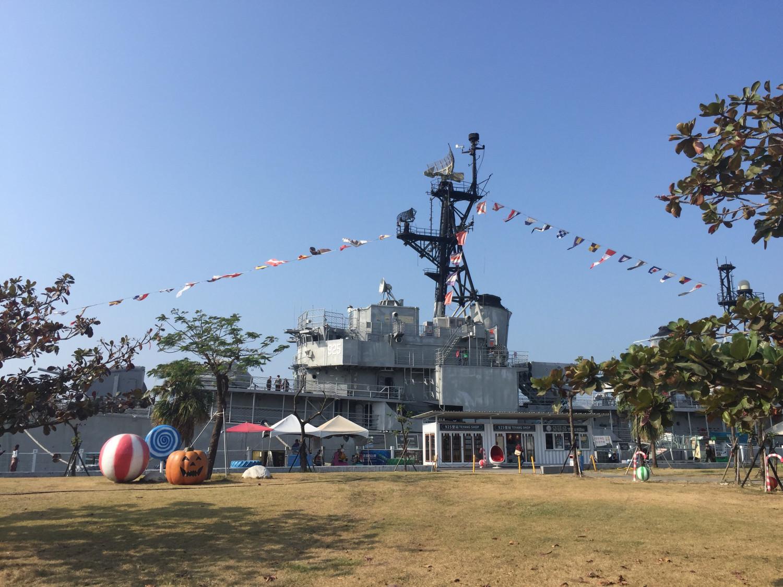 【愛遊府城】定情碼頭德陽艦園區,臺灣第一座軍艦博物館儲存了1945年的輝煌 ⋆ 找 愛 4 人 行