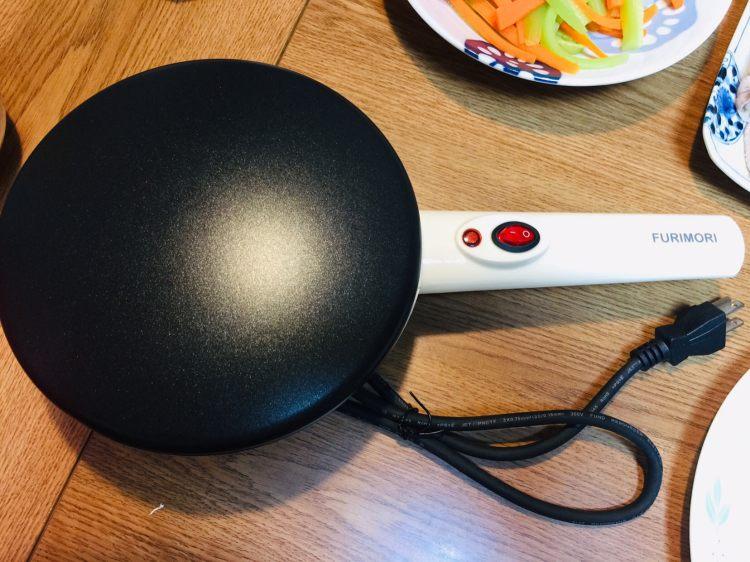 【愛好物】Furimori 薄餅機,不管是春捲皮法式薄餅皮都能輕鬆駕馭