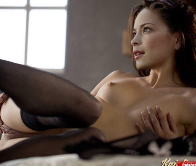 Kristin Kreuk Nude Spreading Her Pussy