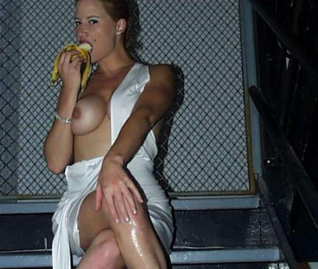 Banana Is Something Else You Know What And She Is Devouring It With Real Pleasure Tammy Lynn Sytch Nude Boobs Are Making This Photo Just Even Better