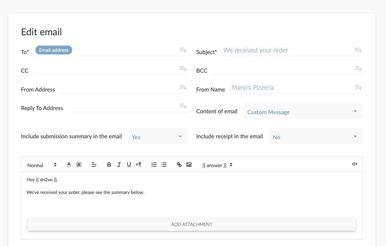 Create An Online Order Form: Template & Step-By-Step Tutorial