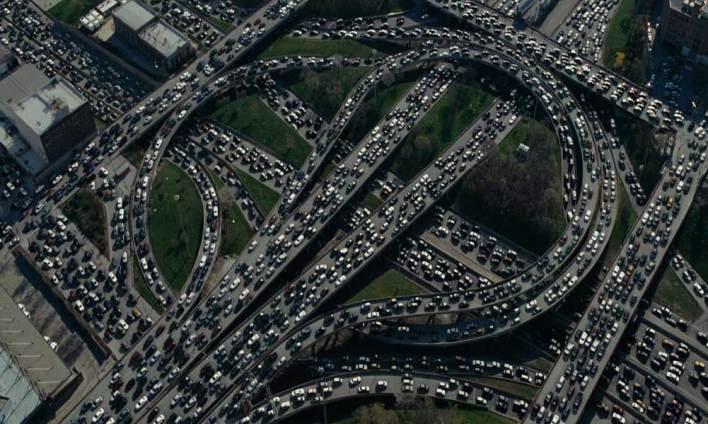 Saatlerce Süren Trafik Çileniz için Şükretmelisiniz