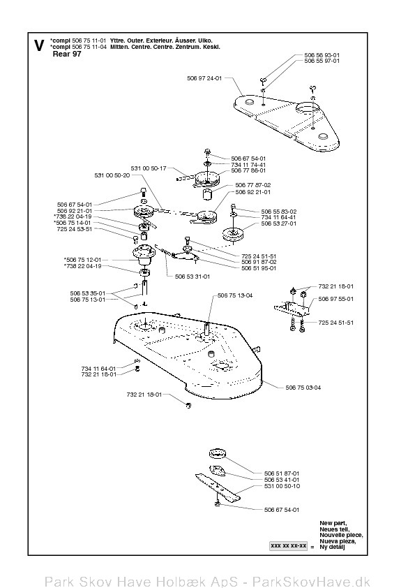 Reservedel Rider Pro 15, 2002-02, Rider
