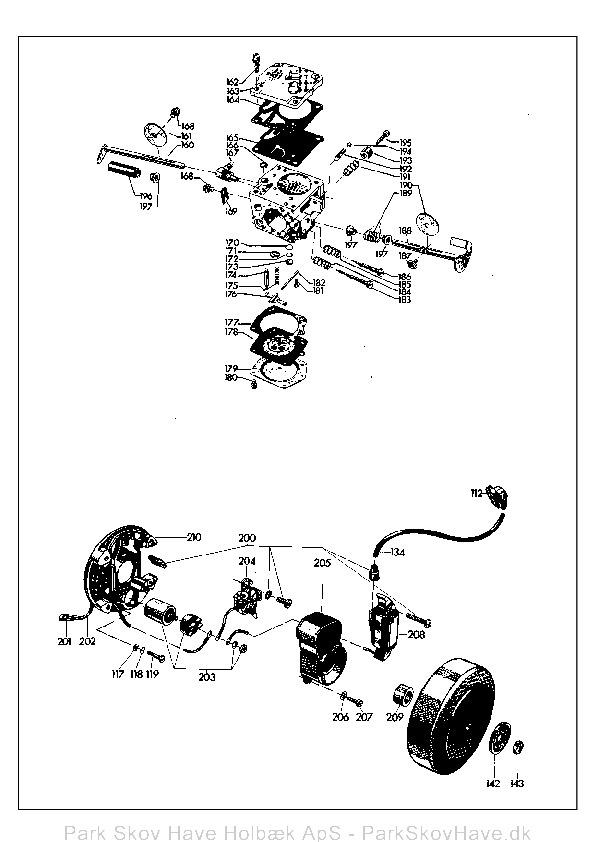 Reservedel Husqvarna L65, 1974-03, Chain Saw