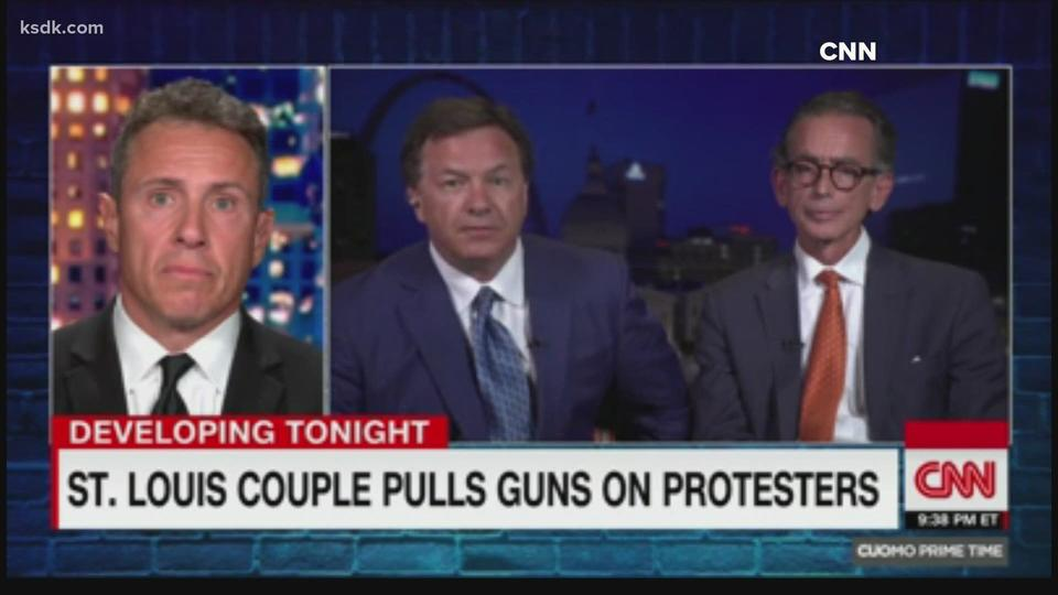 Couple Who Pointed Guns At Protesters Say They Were
