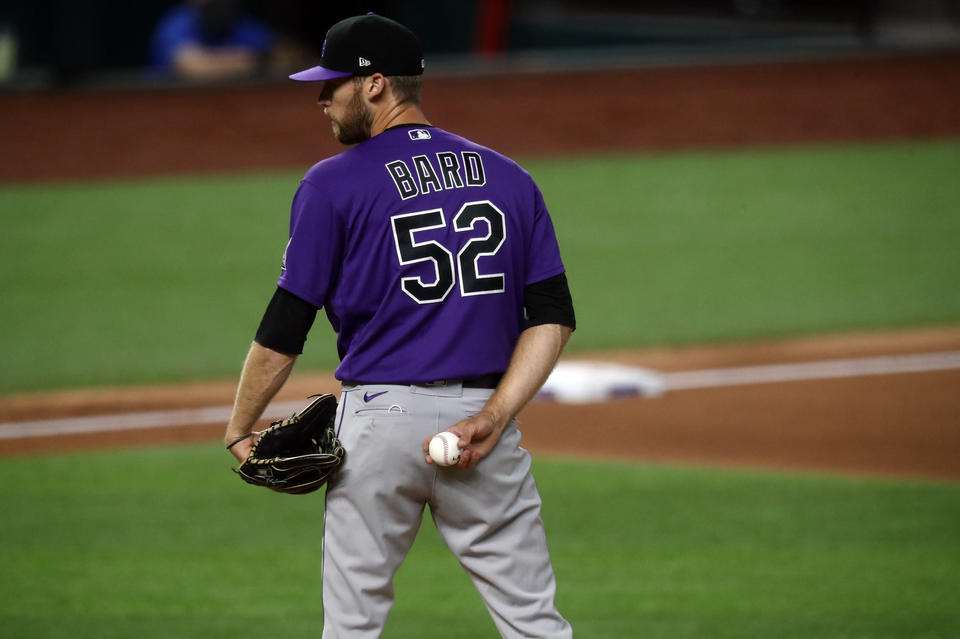 Colorado Rockies Daniel Bard Talks About Going From A