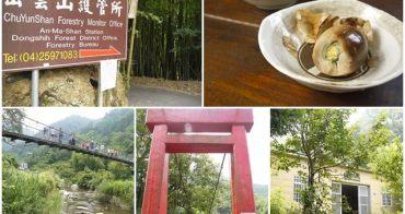 台中大雪山 橫流溪大雪山吊橋&山大人餐廳~享受新鮮森林浴