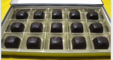 有著濃濃酒香內餡的~比利時酒心巧克力-法國橙香酒