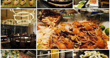 漢來海港餐廳(台北敦化店) 捷運忠孝敦化站美食 晚餐Buffet~螃蟹吃到飽配涮牛肉湯,包肥南霸天有一把刷子