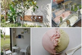宜蘭美食 夏蕾義式冰淇淋咖啡 溫泉番茄/開心果~幾米廣場超美味冰淇淋