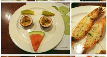 新鮮海鮮與精緻甜點~二訪 華國飯店 西紅柿咖啡廳(下)