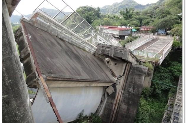 台中 石岡水壩 921地震紀念地~無法抵抗的大自然力量