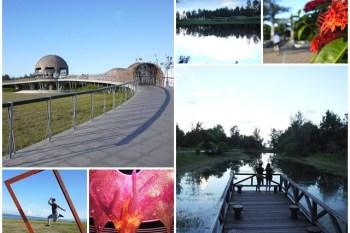 台東海濱公園 國際地標&台東森林公園 琵琶湖~阿一一炎夏熱氣球之旅