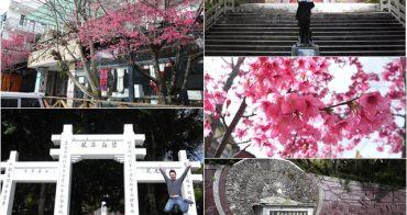 南投 霧社事件紀念公園(莫那魯道紀念碑)~阿一一清境農場櫻花之旅