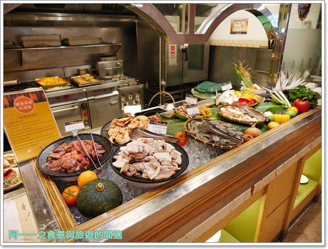 臺北花園大酒店 六國餐廳 午餐Buffet 捷運小南門站美食~甜蝦吃到飽,價格相對平實 - 阿一一之食意旅遊