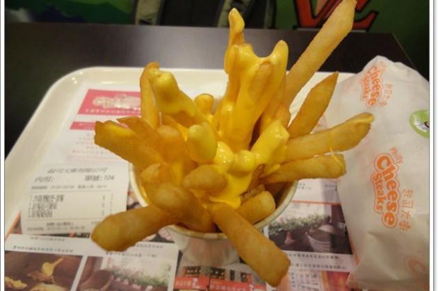 台北西門町 起司大衛~來份香濃起司薯條配漢堡