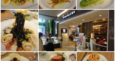 台北京站 杜蘭朵餐廳~美味義大利麵及單點級附餐甜點