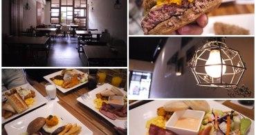 新北新店大坪林捷運站美食 框框美式餐館~大份量早午餐/漢堡