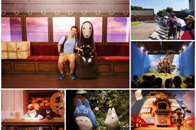 吉卜力的動畫世界特展 台北華山文創園區 參觀攻略~進入宮崎駿動畫世界,惟一可拍照的吉卜力展覽