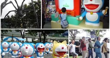 日本東京景點 六本木Hill朝日電視台 滿滿的哆啦A夢~阿一一日本東京自助之旅