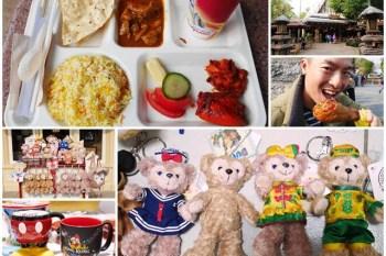 香港迪士尼樂園美食伴手禮 碧林餐廳 南亞菜/烤火雞腿 滿滿的Duffy~阿一一香港自助之旅