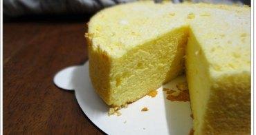 台北 凱樂烘焙坊 百香果天使蛋糕~樸實外貌,純粹美味