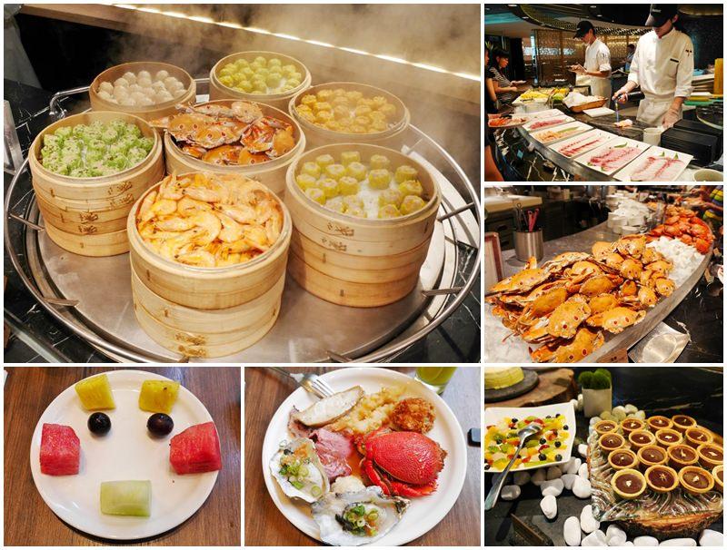 臺北晶華酒店柏麗廳 午餐buffet~螃蟹生蠔滿滿海鮮,馬卡龍吃到飽 - 阿一一之食意旅遊