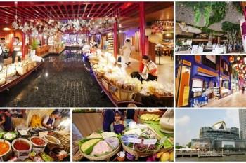 曼谷百貨公司 ICONSIAM 暹羅天地 交通攻略~室內水上市場,超浮誇超好拍