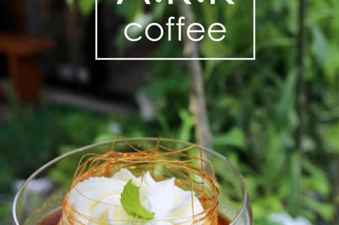 台南咖啡推薦ARK coffee shop 朝聖IG打卡評價超好吃又美的布丁